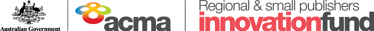 Regional and Smal Publishers Innovation Fund Banner